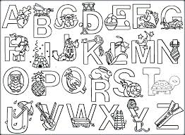 Alphabet Coloring Pages Az Animal Alphabet Coloring Pages A Z On