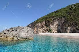 Paradise Beach Of Liapades At Corfu Island (Greece). Sedimentary.. Stock  Photo, Picture And Royalty Free Image. Image 106184128.