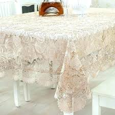 rose gold plastic round tablecloth tablecloths at teal clear lace table cloths 5 sizes optional embroidered tea clot