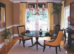 Full Size of Dining Room:nice Dining Room Window Treatments Wood Chandelier  Beaded Glamorous Dining ...