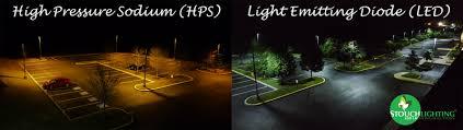 qualitative parison between led and lps hps