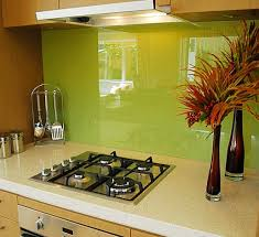 Kitchen With Glass Tile Backsplash Enchanting Green Glass Tile Backsplash Kitchen Wonderful Interior Design For