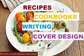 Write A Cookbook Recipe Book In Any Format