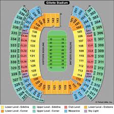 Mcguirk Stadium Seating Chart Patriots Football Stadium Seating Related Keywords