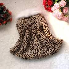 baby faux fur coat retail autumn winter children clothing baby girls leopard print faux fur coat
