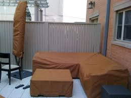 custom made patio furniture covers. Custom Patio Furniture Covers Sectional Umbrella And Ottoman Canvas . Made B