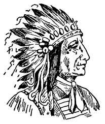 Chief clipart black and white - Pencil and in color chief clipart ...