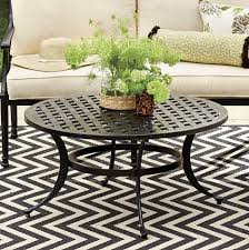 amalfi round coffee table transitional outdoor coffee tables by ballard designs outdoor coffee table round