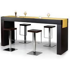 Table Bar Cuisine Rectangulaire Idée De Modèle De Cuisine