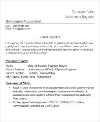Dcs Engineer Sample Resume Amazing 44 Best Engineering Resume Templates PDF DOC Free Premium