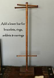 Long Necklace Display Stand Long Tall Jewelry Organizer Long Necklace Tree Bracelet 30