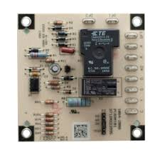 goodman control board. this pcbdm101s defrost control board is a guaranteed genuine goodman oem replacement circuit for several goodman, amana, and janitrol units. d