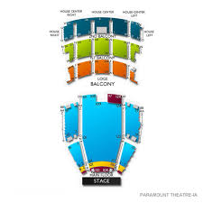 Rapids Theatre Seating Chart Paramount Theatre Ia Tickets