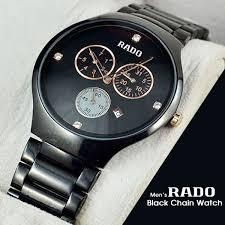 mens rado black chain watch watchnpay com 7mens rado black chain watch
