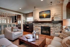 Small Picture Interesting Living Room With Tv And Fireplace Trendy Photo In