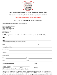 sponsorship agreement top 5 resuorces to get free sponsorship agreement templates word