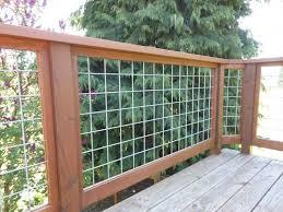 Hog Fence Deck Railing Ideas Capricornradio HomesCapricornradio Homes