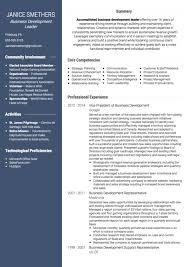 Sample Resume London Business School Professional Resume Cv Maker