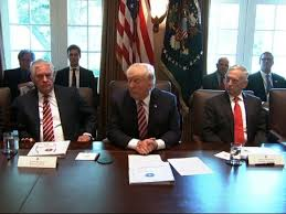 Cabinet Members Gush Over Trump During Meeting - YouTube