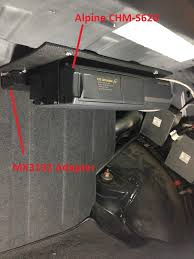 how to add a good alpine 6 cd changer to your becker 1432 out and here it is installed