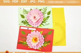 Try this flower pop up card for something mom is sure to really love and appreciate (especially since you made it for her) easy enough to make in an hour, but something your mother may very well keep for years. Diy 3d Pop Up Greeting Card Graphic By Lasquare Info Creative Fabrica