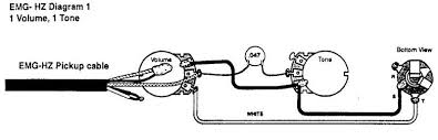 emg wiring diagrams wiring diagram emg pickup wiring diagrams diagram and hernes