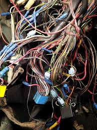 vw rabbit forum 1982 convertable wiring fun volkswagen rabbit fuel and tail light harness from this point on is from a different car