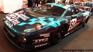 Jaguar XJ220 Le Mans Race Car - YouTube