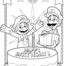 Small Picture Birthday Cake Ribbons Coloring Page Pages For Birthday Cards Star