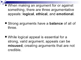 the three appeals of argument the three appeals of argument 8 th grade language arts 2