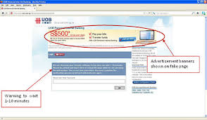 Banking Alert Security Uob Phishing Internet For Website Personal