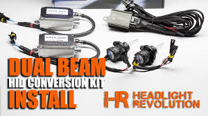 how to install a dual beam hid headlights bi xenon hid conversion how to install a dual beam hid headlights bi xenon hid conversion kit relay harness