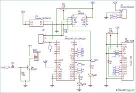 make your own smoke detector circuit using arduino 8 steps picture of mq2 smoke detector arduino shield circuit