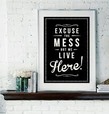 view in gallery on poster board wall art with using typography for decorating alphabet decor home accessories