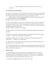 How To Cite A Quote In Apa Custom Week48b Pdffile More Notes On Apa Referencing