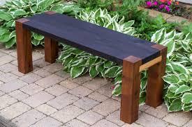 rustic outdoor wood garden bench opnodes