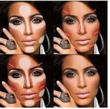 contouring application makeup tricks game face and body brows