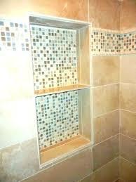 diy shower tiling tile in bathroom