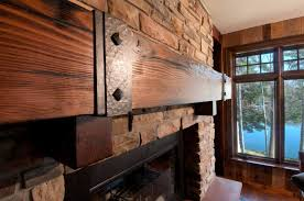 reclaimed wood fireplace samples dark douglas fir mantel