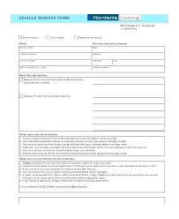 Car Service Record Template Service Book Template Vehicle Maintenance Record Book