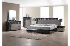 King Size Modern Bedroom Sets California King Bedroom Sets Edmonston 4pc Rich Espresso Storage