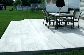 how much does a concrete patio cost concrete patios cost patio designs concrete patio cost calgary