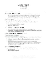 Business Resume Objective Free Doc Territory Manager Resume