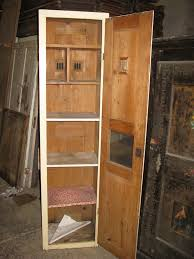 i love the proportions of this cupboard its quite a robust shape it does not have to used for a larder but it would make quite a good one