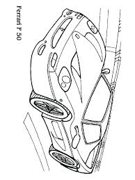 Ferrari Coloring Pages Pizzafoodclub