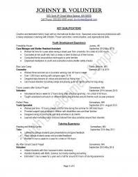Peace Corps Resume Gorgeous JOHNNY B VOLUNTEER