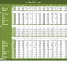 Household Budget Planner Excel Templates For Every Purpose