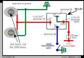 horn installation on valkyries wire car horn wiring diagram manual at Bosch Horn Relay Wiring Diagram