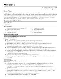 Health Records Clerk Sample Resume Health Records Clerk Sample Resume Shalomhouseus 23