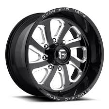 off road wheels truck wheels custom wheel and tire packages fuel flow black milled 20x10 wheels